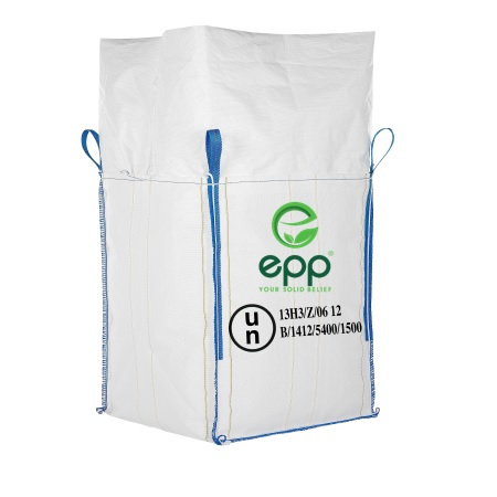 Made in Vietnam UN pp woven container bag UN formstable breathable canvas tote bags 1m3 Un certificate FIBC bag translation