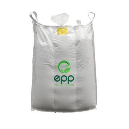 EPP Baffle big bag with filling spout and flat bottom