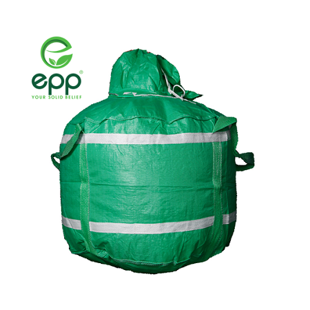 EPP Circular bulka bag super sack with filling spout and flat bottom