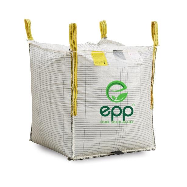 Top supplier in Vietnam 4 panel moisture proof Woven Polypropylene Bags 500kg 1000kg 700kg 2000kg SWL 1 metric ton Conductive Type C super sacks