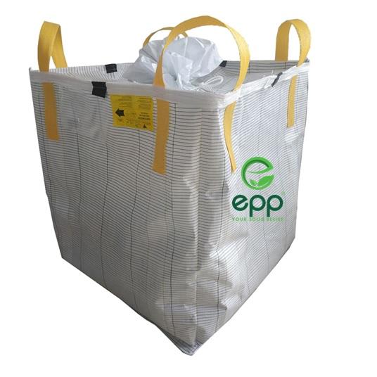 FIBC Type C bag breathable Vietnam maufacturer plastic packaging bulk bags 1 ton 1.5 ton 2 ton conductive FIBCs translation