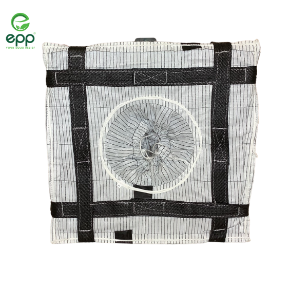 Vietnam high quality factory direct price PP woven bag with low breakdown voltage canvas tote bags 1/2 tonne and 1 tonne 4 panel conductive type c FIBC antistatic bulk bag
