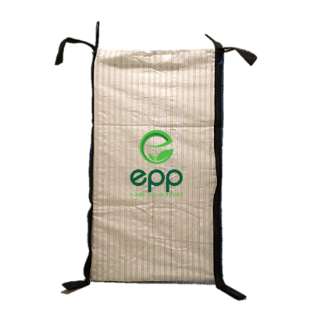 Vietnam good price PP bulk vented logs big bags ventilated 1 ton plastic bag for firewood